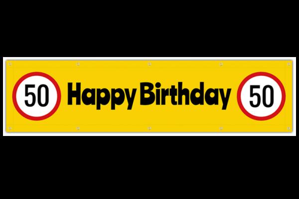 Geburtstag Banner online selbst gestalten