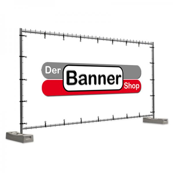Bauzaunbanner | Bauzaunplane | Werbebanner | Bannerdruck online | PVC-Plane | PVC-Banner |