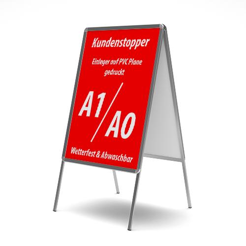 Bannerposter - PVC-Banner für Kundenstopper
